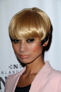 short pageboy haircut bai ling