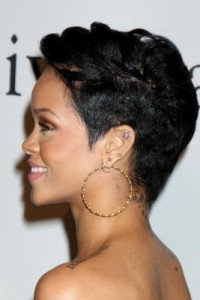 rihanna - side view