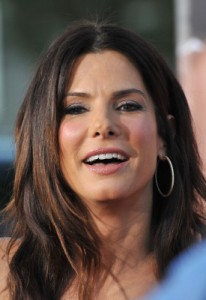 sandra bullock square shape face